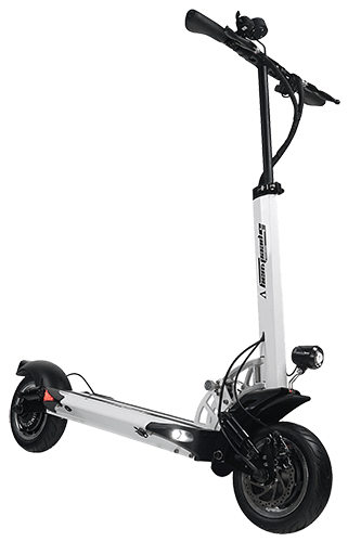 White Minimotors Speedway 5 Electric Scooter