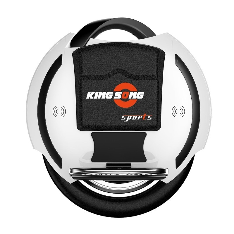 white kingsong ks-14s electric unicycle