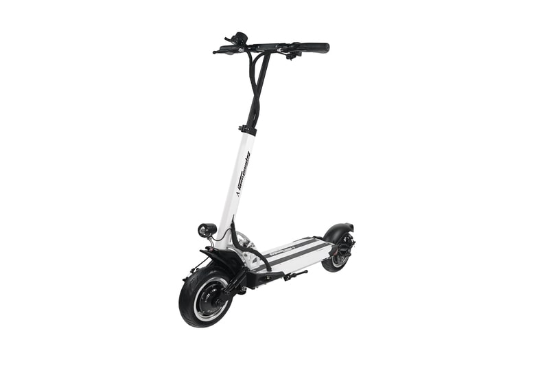 speedway V white electric scooter