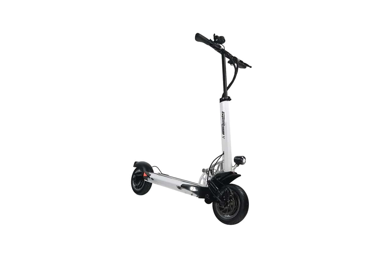 white speedway V electric scooter