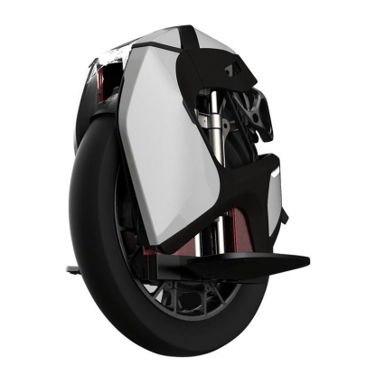 white kingsong s18 electric unicycle