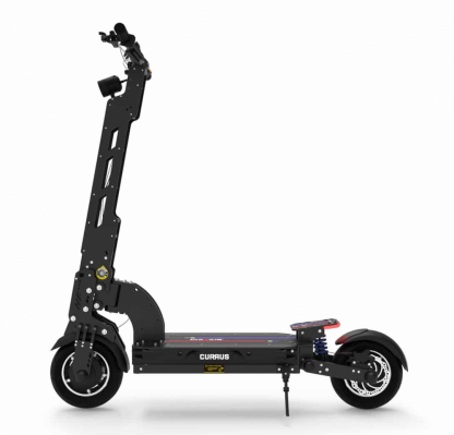 black currus nf plus electric scooter