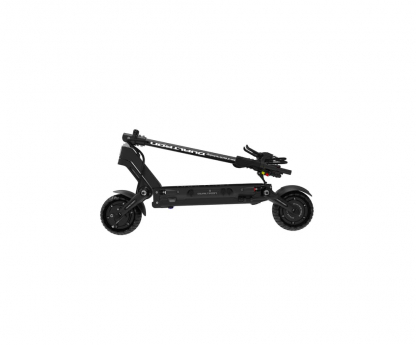 black dualtron compact electric scooter