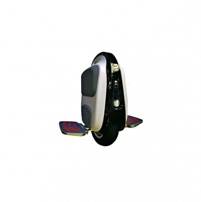gotway mten3 10 inch electric unicycle with head light side