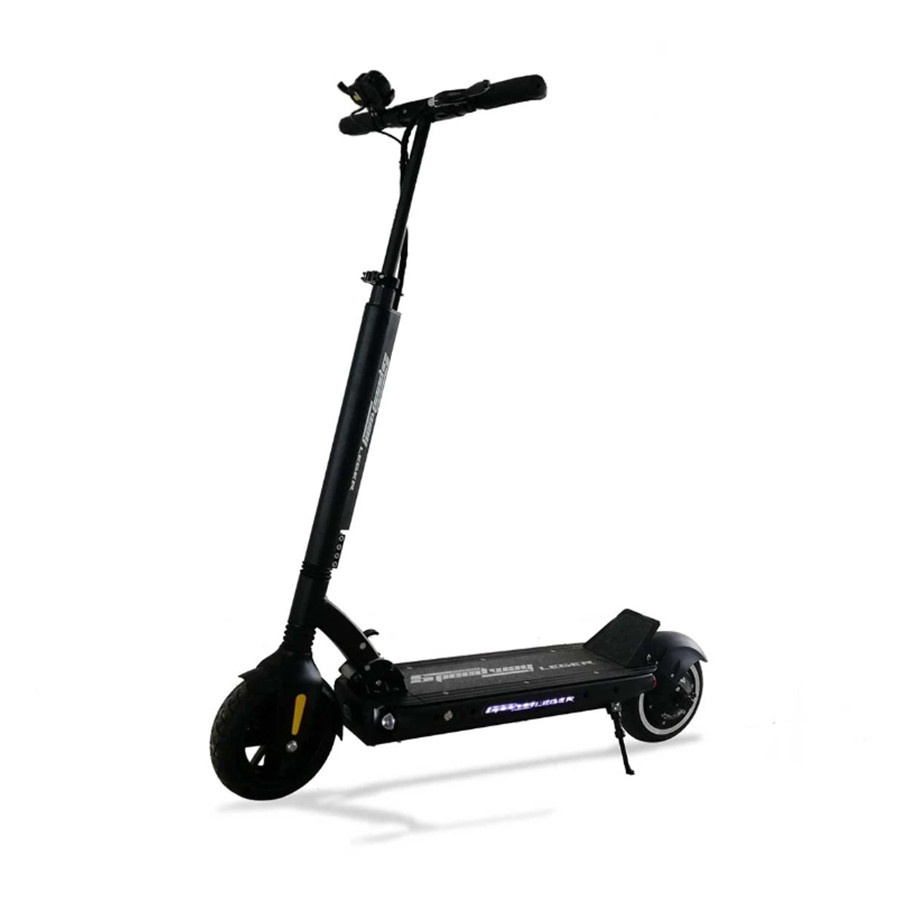 speedway leger black electric scooter