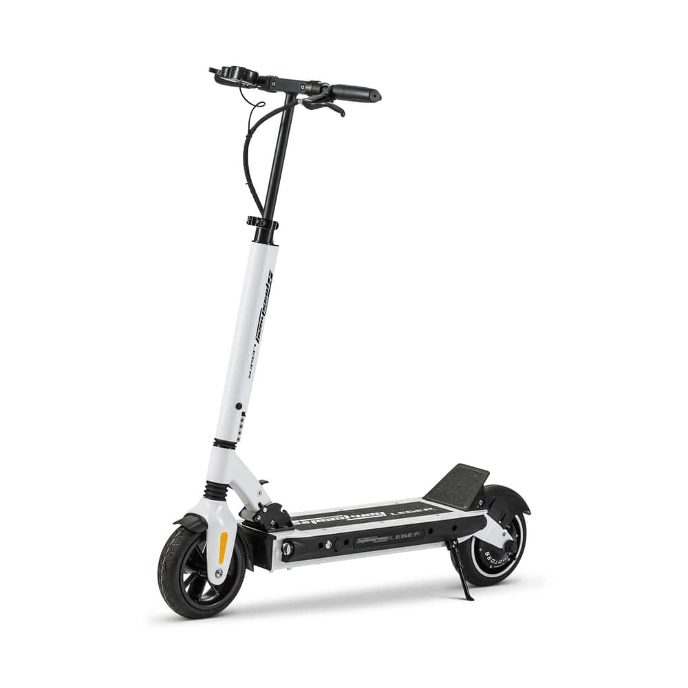 white speedway leger electric scooter