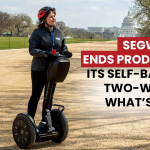 segway ends production of self balancing two wheeler