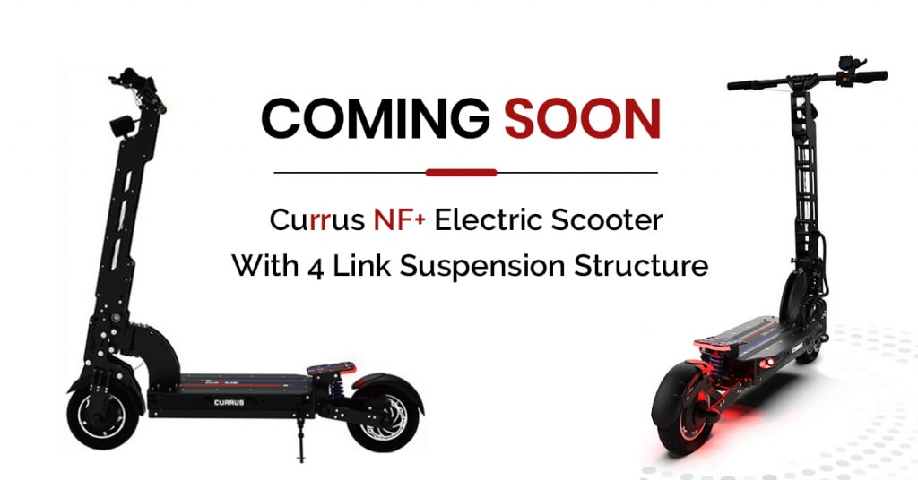 Currus NF+ Electric Scooter