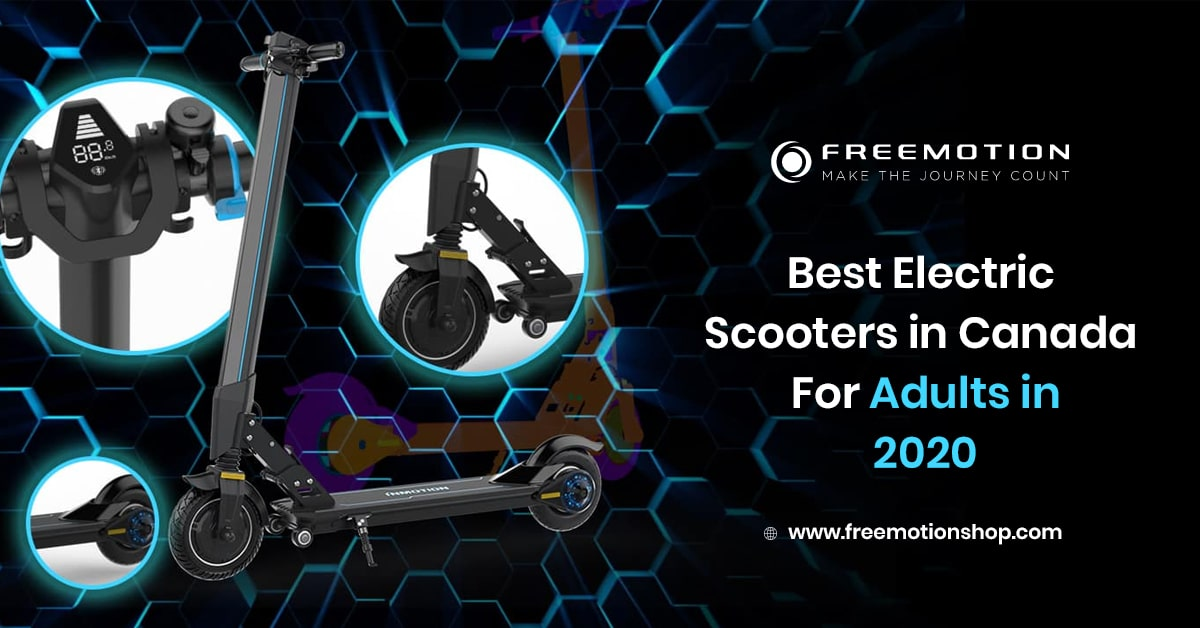 best electric scooters in canada for adults in 2020