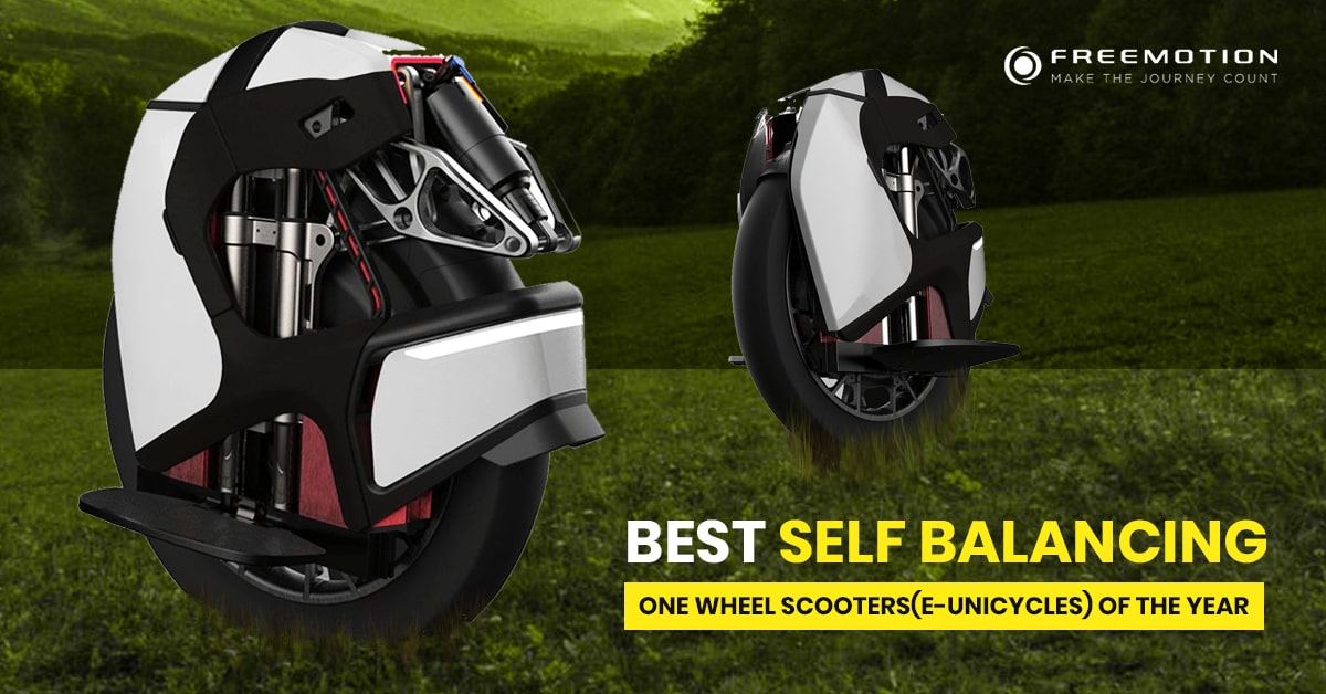 best self balancing one wheel e scooter (eunicycle) of the year