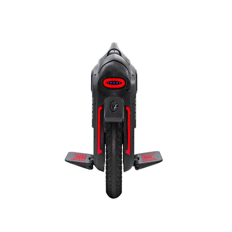 gotway rs 19-inch 100v/1800wh electric unicycle with bluetooth speakers