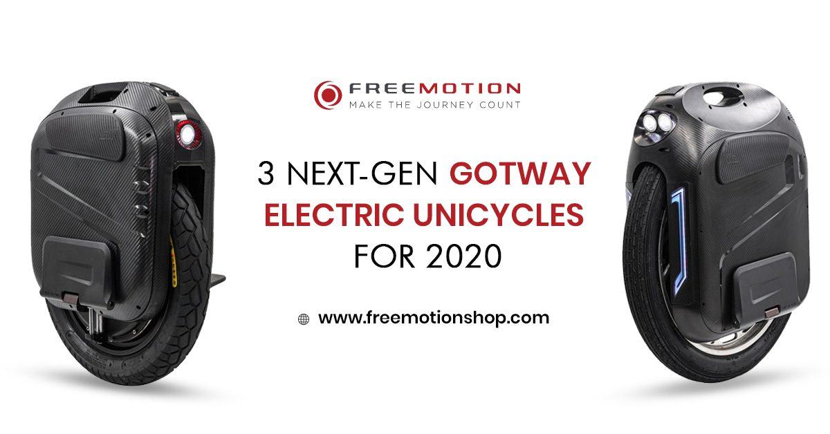 next gen gotway electric unicycles