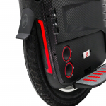 the 2020 gotway rs 19-inch 100v/1800wh electric unicycle with bluetooth speakers
