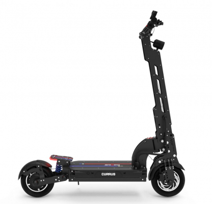 currus nf plus electric scooter side view