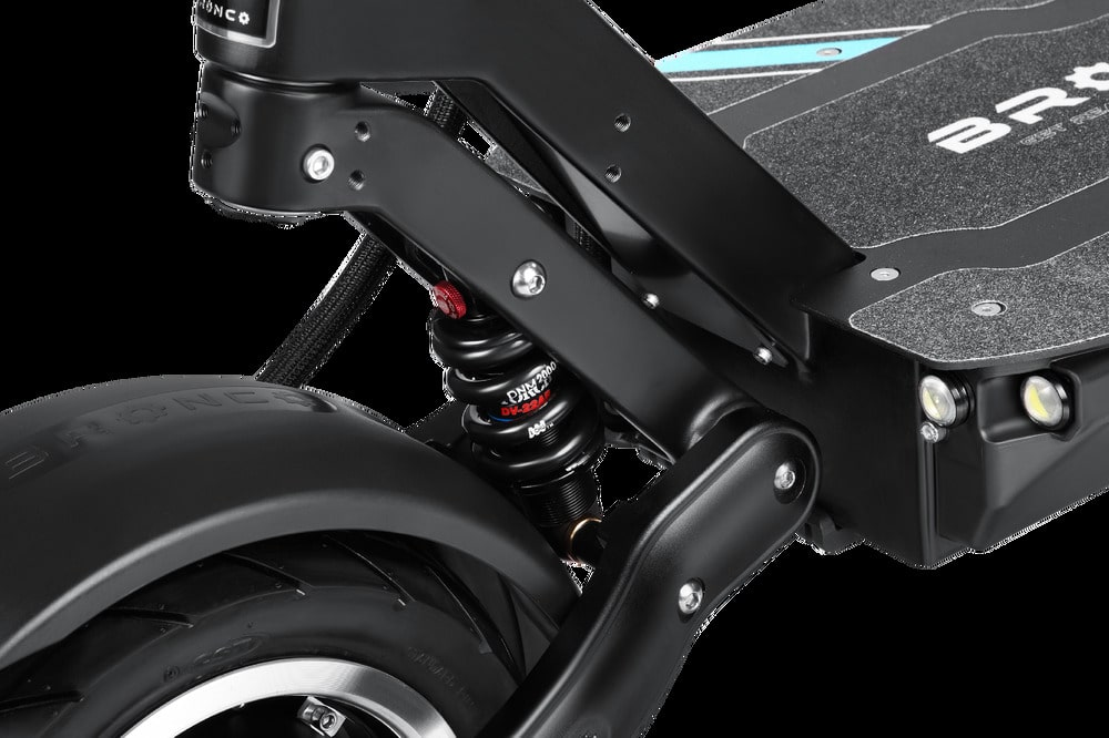 bronx xtrem 11 sport edition electric scooter front suspension