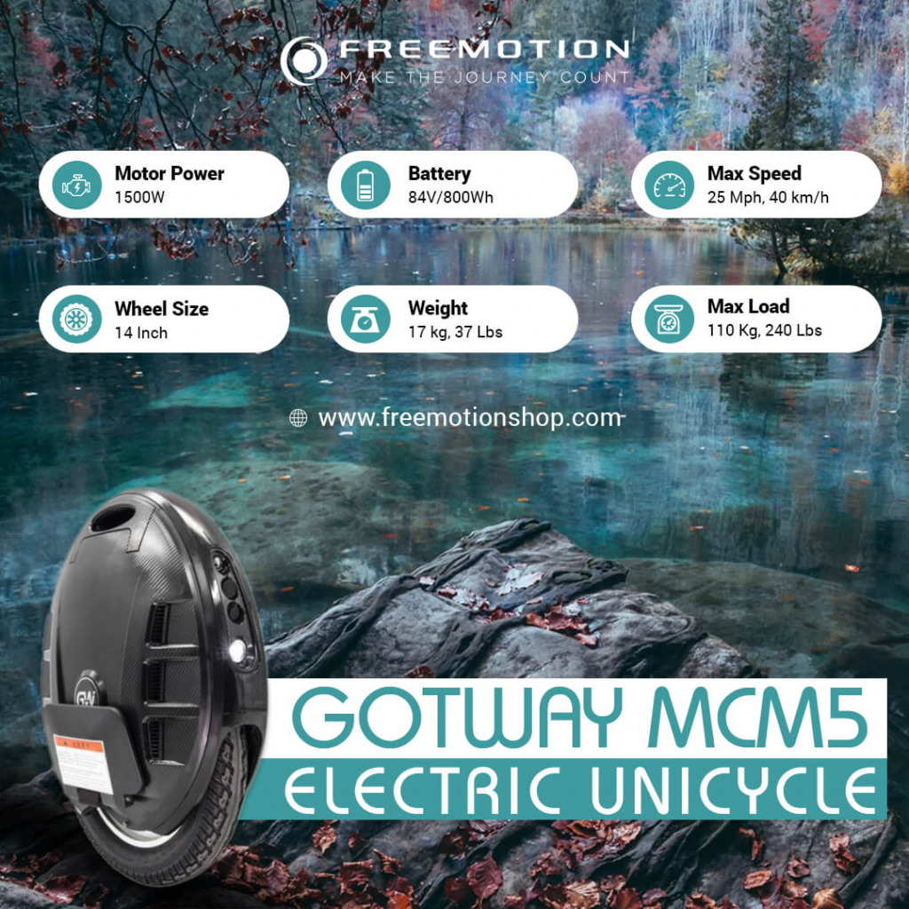 gotway mcm5 14 inches electric specs