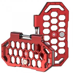 gotway CNC Anodized Aluminium Pedals red
