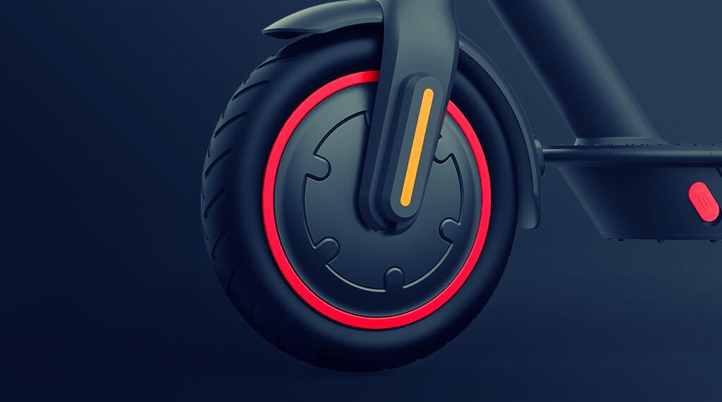 xiaomi mijia pro 2 electric scooter front wheel