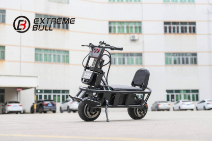Extreme Bull K4 seated electric scooter with front head light